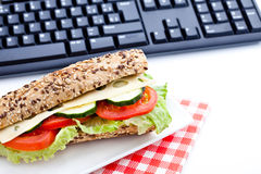 Vegetable diet sandwich Stock Photos