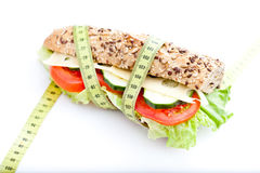 Vegetable diet sandwich Royalty Free Stock Photography