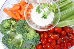 Vegetable Dip Royalty Free Stock Photos