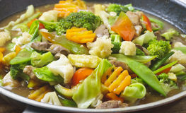 Vegetable Dish Stock Photography