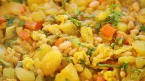 Vegetable dish sabzi Stock Image