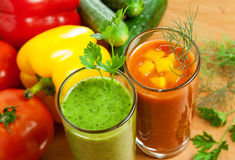 Vegetable drink Royalty Free Stock Images