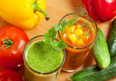 Vegetable drink Royalty Free Stock Image