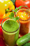 Vegetable drink Stock Photo