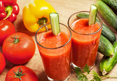 Vegetable drink Royalty Free Stock Photos