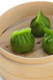 Vegetable dumpling dim sum Stock Image