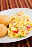 Vegetable Dumpling & Saltfish Royalty Free Stock Photography
