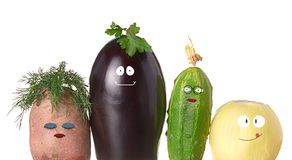 Vegetable family Stock Photo
