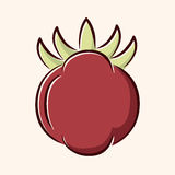 Vegetable flat icon elements,eps10. Vector illustration file Stock Photography