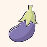 Vegetable flat icon elements,eps10. Vector illustration file Royalty Free Stock Image