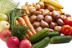 Vegetable food Stock Photos