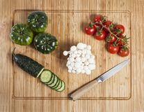 Composition of vegetables royalty free stock image