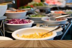 vegetable food buffet catering in restaurant hotel. eating dinin stock photo