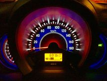 Speed meter Royalty Free Stock Images