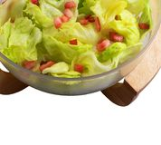 Vegetable food - fresh salad Royalty Free Stock Photography