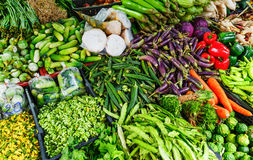 Vegetable in food market. Vegetable in the food market stock image