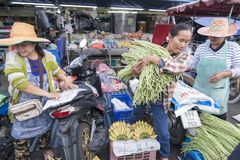THAILAND BURIRAM SATUEK MARKET Stock Photo