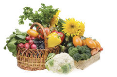 Vegetable Food Objects Royalty Free Stock Image