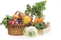 Vegetable food objects Stock Image