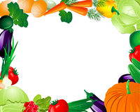 Vegetable Frame Royalty Free Stock Photo
