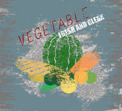 Vegetable fresh and clean Royalty Free Stock Photo