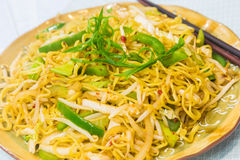 Vegetable Fried Noodles Stock Images