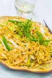 Vegetable Fried Noodles Stock Photo