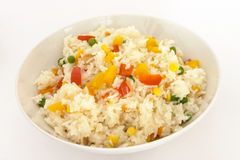 Vegetable fried rice 2 Stock Images