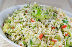 Vegetable Fried Rice Royalty Free Stock Photo