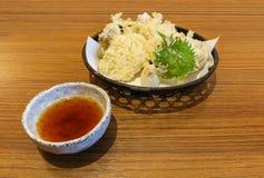 Vegetable fried Tempura Tempura  Japanese Food Royalty Free Stock Image