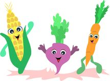 Vegetable Friends Royalty Free Stock Image