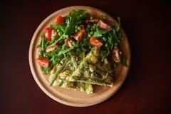 Vegetable frittata Royalty Free Stock Photo