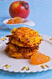 Vegetable fritters Stock Photo