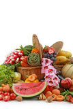 Vegetable and fruit Stock Image