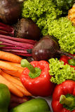 Vegetable And Fruit Collection Royalty Free Stock Image