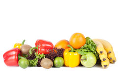 Vegetable and fruit Stock Images