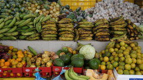 Vegetable and Fruit Market in Curacao. Vegetable and Fruit Market in Willemstad, Curacao Royalty Free Stock Photos