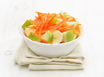 Vegetable fruit salad in bowl Stock Photos