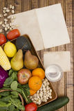 Vegetable and fruit set Stock Photography