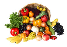 Vegetable and Fruits Royalty Free Stock Photos