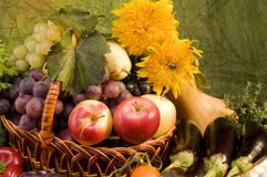 Vegetable and fruits food still-life Royalty Free Stock Photos