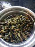 Fry vegetable. Vegetable fry in my home kitchen Stock Photography