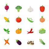 Vegetable full color flat design icon. royalty free illustration