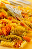 Vegetable fusilli Royalty Free Stock Photography