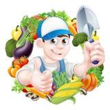 Vegetable Gardener Royalty Free Stock Photo