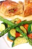Vegetable Garnish Royalty Free Stock Image