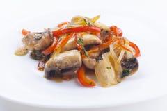 Vegetable Garnish Stock Images