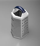 Vegetable grater. With plastic stainless steel stock image