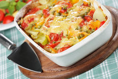 Vegetable gratin Royalty Free Stock Photography