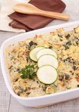 Vegetable gratin Royalty Free Stock Images
